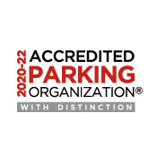 Accredited Parking Organization with Distinction